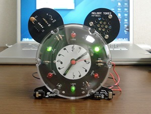 メロディー時計(AW-862)完成